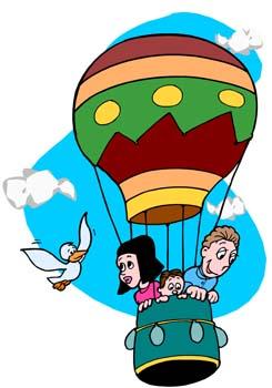 Hot Air Balloon - Fun Facts for Kids