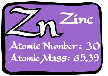 Zinc facts science for kids zinc facts urtaz Choice Image