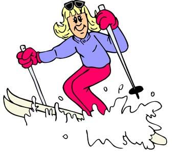 ski-lady
